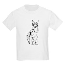 lynx cougar wild cat bobcat T-Shirt