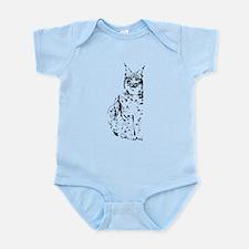 lynx cougar wild cat bobcat Infant Bodysuit