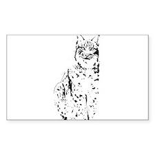 lynx cougar wild cat bobcat Decal