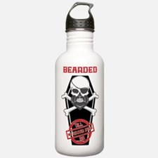 Cool Awesome beard Water Bottle