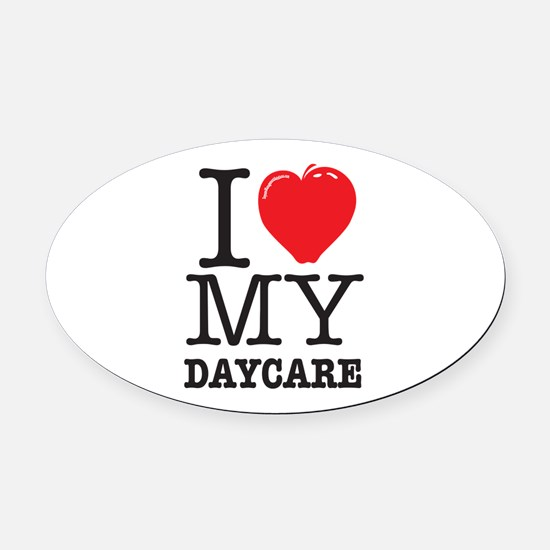 Daycare Car Magnets CafePress - Custom car magnets oval promote your brand