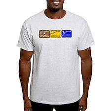 Science Smart Ash Grey T-Shirt
