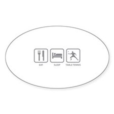 Eat Sleep Table Tennis Decal