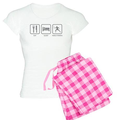 Eat Sleep Table Tennis Women's Light Pajamas