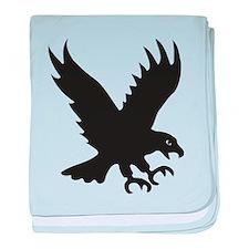 eagle bird of prey predator hunter baby blanket