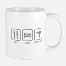 Eat Sleep Taekwondo Mug