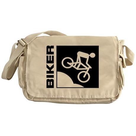 biker cycling mountain bike mtb downhill Messenger