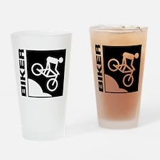 biker cycling mountain bike mtb downhill Drinking