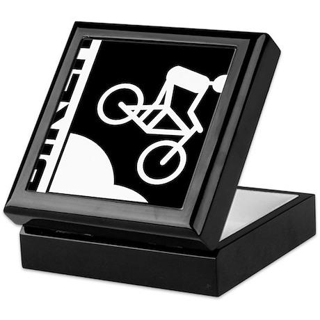biker cycling mountain bike mtb downhill Keepsake