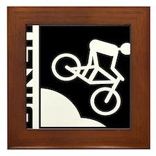 biker cycling mountain bike mtb downhill Framed Ti