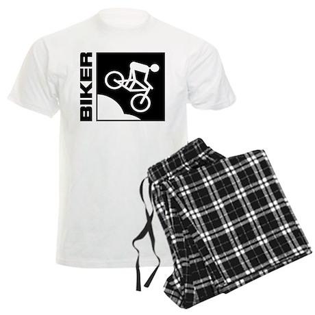 biker cycling mountain bike mtb downhill Men's Lig