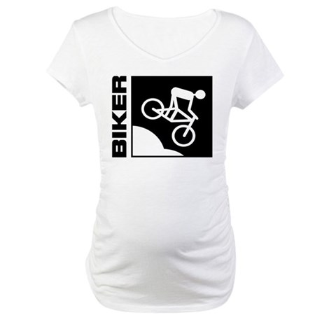 biker cycling mountain bike mtb downhill Maternity