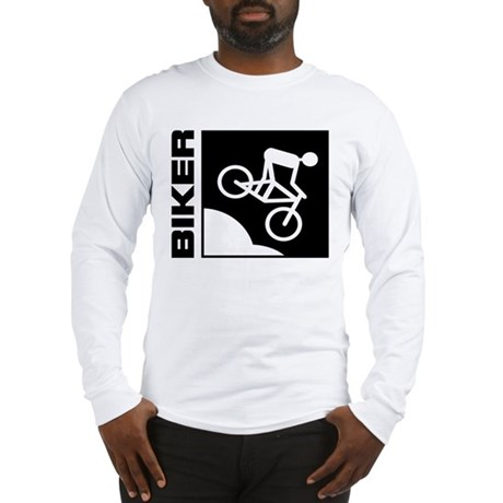 biker cycling mountain bike mtb downhill Long Slee