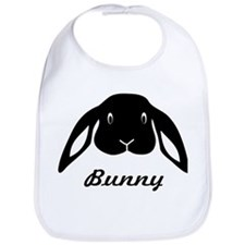 bunny hare rabbit cute Bib