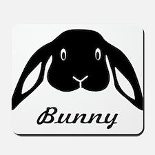 bunny hare rabbit cute Mousepad