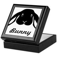bunny hare rabbit cute Keepsake Box