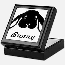 bunny hare rabbit cute Keepsake Box