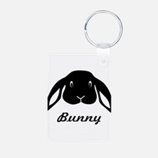 bunny hare rabbit cute Keychains