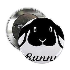 "bunny hare rabbit cute 2.25"" Button"
