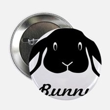 "bunny hare rabbit cute 2.25"" Button"
