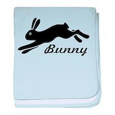 bunny hare rabbit baby blanket