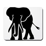 Elephant Classic Mousepad