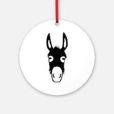 donkey mule horse ass jackass burro fool Ornament