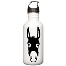 donkey mule horse ass jackass burro fool Water Bottle