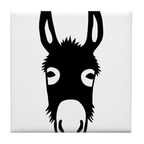donkey mule horse ass jackass burro fool Tile Coas