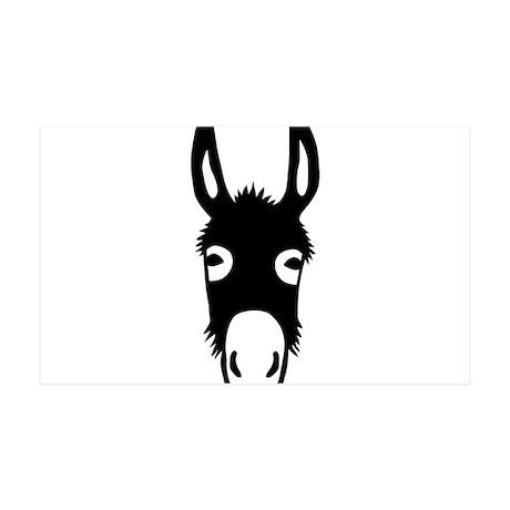 donkey mule horse ass jackass burro fool 35x21 Wal