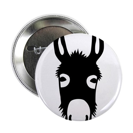 "donkey mule horse ass jackass burro fool 2.25"" But"