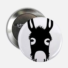 "donkey mule horse ass jackass burro fool 2.25"" But"