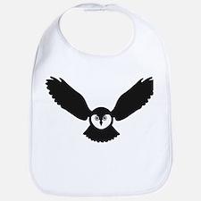 owl owlet night bird Bib