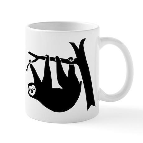 sloth lazy animal freeclimber Mug