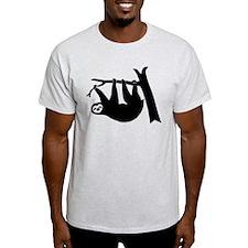 sloth lazy animal freeclimber T-Shirt