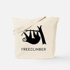 freeclimber climbing climber sloth mountain Tote B