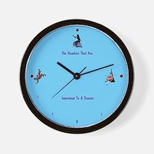 Clock for Dancers Wall Clock