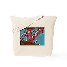 San Franciso Golden Gate Bridge Tote Bag