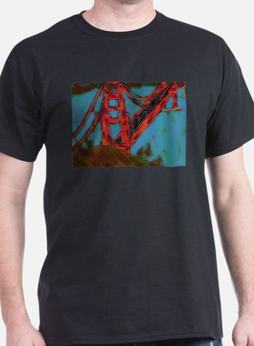 San Franciso Golden Gate Bridge T-Shirt