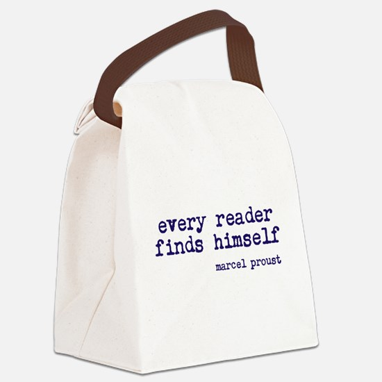 Every Reader Canvas Lunch Bag
