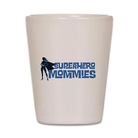 Superhero Mommies (Purple) Shot Glass