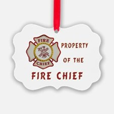 Fire Chief Property Ornament