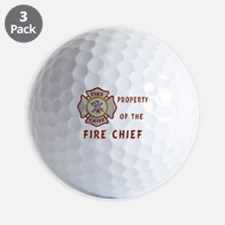 Fire Chief Property Golf Ball