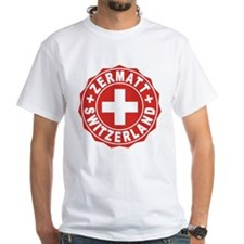 Zermatt White Cross Shirt