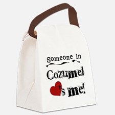 lovesmecozumel.png Canvas Lunch Bag
