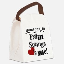 LOVESMEPALMSPRINGS.png Canvas Lunch Bag