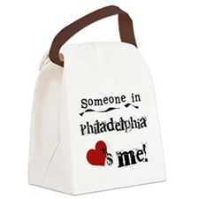 lovesmephilly.png Canvas Lunch Bag