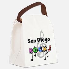 rocksandiego.png Canvas Lunch Bag