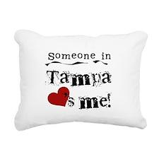 lovesmetampa.png Rectangular Canvas Pillow