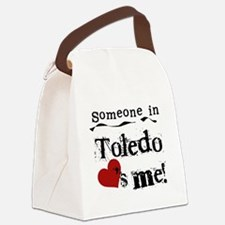 lovesmetoledo.png Canvas Lunch Bag